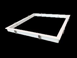 Cadre encastré 600 x 600 pour panneau LED